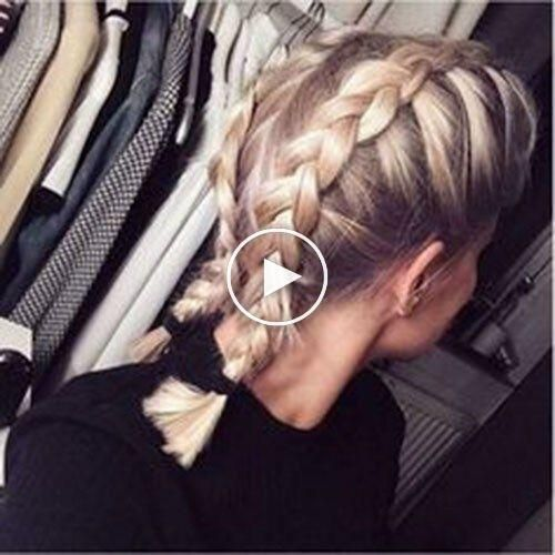 French Braid Best French Braid Short Hair Ideas 2019 The Undercut Hairstyles Trends Network Explore Discover The Best And The Most Trending Hairstyles And Haircut Around The World