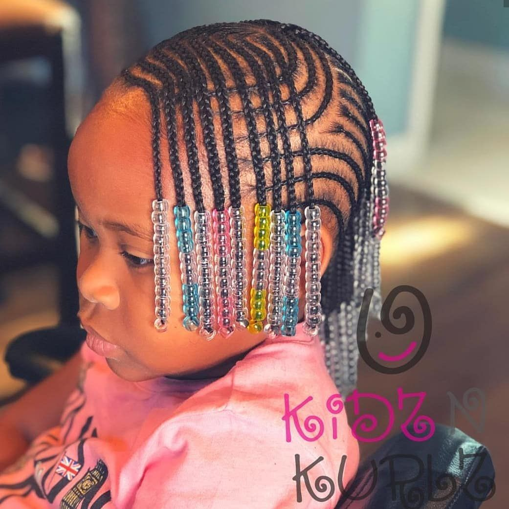 Kids Hairstyles Braids Kidshairstyles Naturalhair On Instagram Featured Kidz N Kurlz Follow Kissegirl Hair Skin And Nails Beauty Products Available Now Www Kissegirl Com Bit Ly Browngirlshair Hairstyles Trends Network Explore